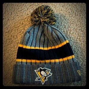 🔥PIttsburgh Penguins Ribbed Beanie 🏒
